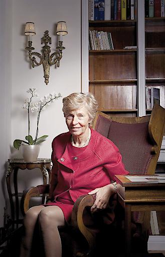"""Dr. Therese Schwarzenberg wird am 6. Oktober im Gespräch mit Dr. Christine Haiden (Chefredakteurin """"Welt der Frau"""") über ihr Leben erzählen."""