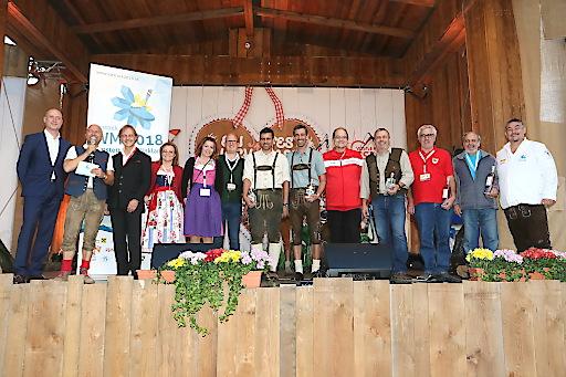 Gewinner der 1. Austrian Icestock Challenge Trophy