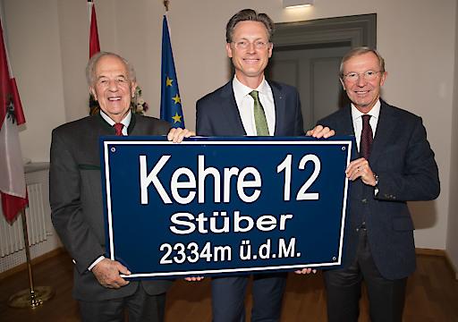 Festakt zum 90. Geburtstag von Prof. Eberhard Stüber in der Neuen Residenz Salzburg