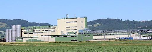 Werkszubau in der Maisstärkefabrik Aschach an der Donau