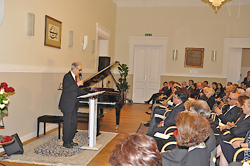 Empfang in der Bahá'í Religionsgemeinschaft Österreich, Maroltingergasse 2, 1140 Wien ..am 12.10.2017 - Abdruck FREI - für die Bahá'í Religionsgemeinschaft Österreich......