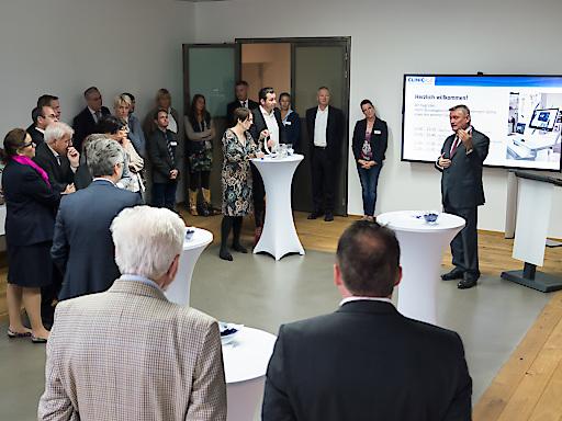 Bundesgesundheitsminister Hermann Gröhe zu Gast bei ClinicAll