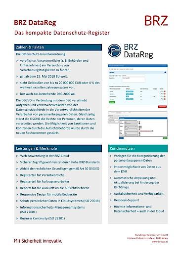 BRZ DataReg: So einfach kann Datenschutz sein