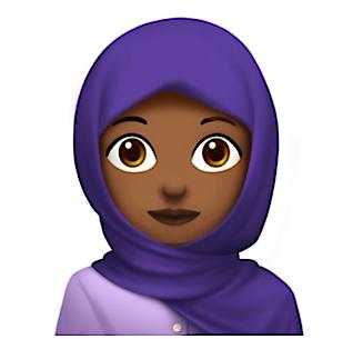 Headscarf Emoji (iOS)