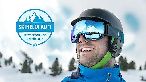 """Skihelm auf! Neureuther, Rebensburg & Co. sensibilisieren fürs Helmtragen beim Skifahren / Neue Aufklärungskampagne von SnowTrex / Quelle: SnowTrex/Martin Miseré / Frei (Web, Print, SocialMedia, RED) in redaktionellem Zusammenhang mit SnowTrex sowie der Kampagne """"Skihelm auf! Mitmachen und Vorbild sein"""" / Weiterer Text über ots und www.presseportal.de/nr/103258"""