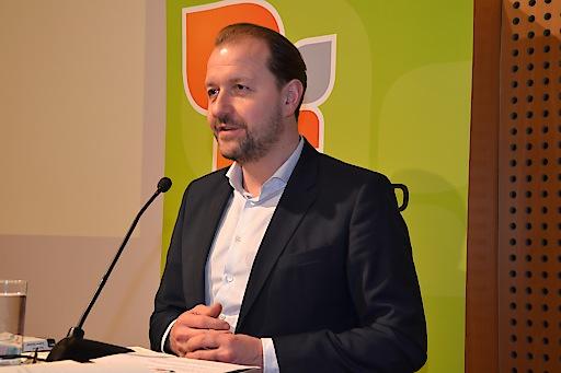 Der bei der 37. ordentlichen Generalversammlung im Amt bestätigte Präsident des Österreichischen Familienbundes: Mag. Bernhard Baier