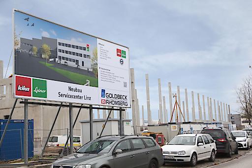 Neubau Servicecenter Linz-Leonding