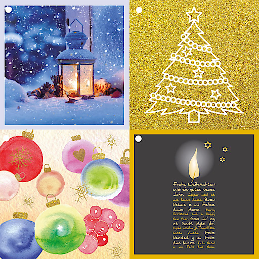 Geschenkanhänger, Weihnachtsbillets, ein Gefühlequartett für Kinder und viele andere Sinn und Freude stiftende Geschenken auf www.sos-kinderdorf.at/sos-shop