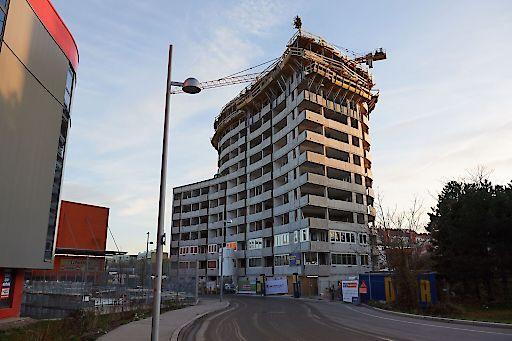 """Dachgleiche von """"wohngut PANORAMA3"""" in der Leopold-Böhm-Straße 2, 1030 Wien."""