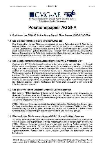 """""""Ohne weiteren Ausbau der Glasfaser-Infrastruktur droht Österreich der wirtschaftliche und technologische Rückschritt"""""""