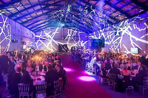 """Die Harley-Davidson-Charity-Gala am 25.11.2017 stand unter dem Motto """"Tanz der Vampire""""."""