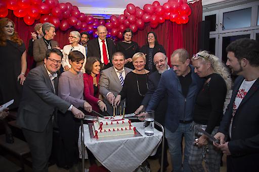 20 Jahre nach der Eröffnung des Aids Hilfe Hauses lud die Aids Hilfe Wien politische EntscheidungsträgerInnen, langjährige UnterstützerInnen und WegbegleiterInnen ein, dieses Jubiläum gemeinsam zu feiern.