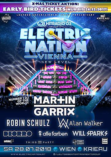 Artwork zur Veranstaltung Electric Nation Vienna