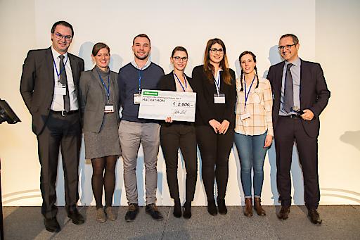 Hackathon 2017 Siegerteam
