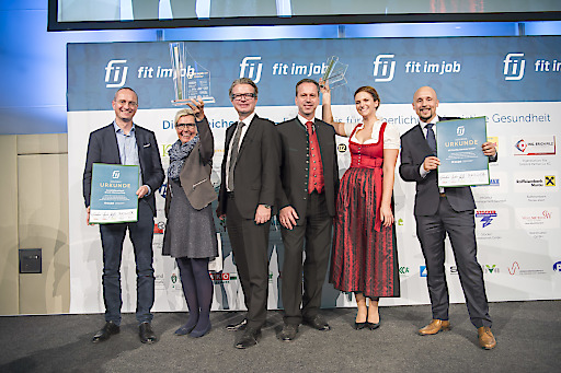 Fit im Job 30.10.2017 .copyright by Foto Fischer, Herrengasse 7, 8010 Graz