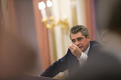 FPÖ-Klubobmann Mahr am Rednerpult