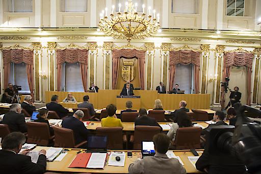 Landtagssitzung in Oberösterreich