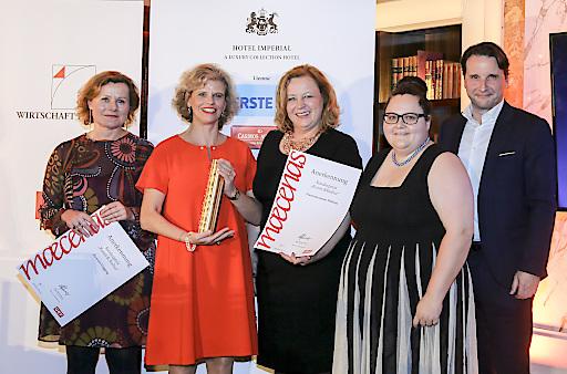 Maecenas Preisverleihung 2017 im Hotel Imperial