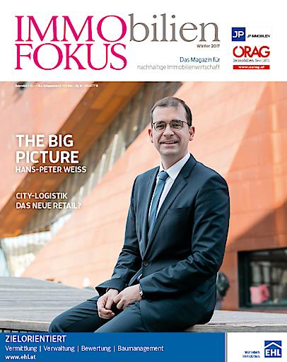 Am 06.12.2017 präsentiert der ImmoFokus seine Winter-Ausgabe des Branchenmagazins der Nachhaltigen Immobilienwirtschaft.