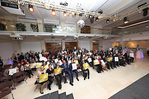 ISS Österreich zum 4.Mal mit Gold bei BEST-RECRUITERS ausgezeichnet und den 3.Platz im Gesamtranking verteidigt