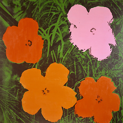 ANDY WARHOL, Four-Foot Flowers, 1964 © Courtesy Heidi Horten Collection | Foto: Courtesy Heidi Horten Collection The Andy Warhol Foundation for the Visual Arts, Inc. / Licensed by Bildrecht, 2017