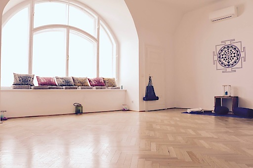 Das E5 Ayurveda & Yogazentrum in Wien, Yogaraum