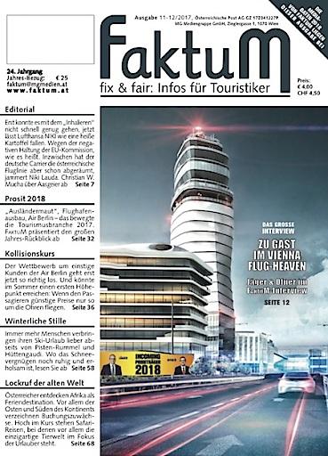 Coverillustration zur aktuellen FaktuM-Ausgabe