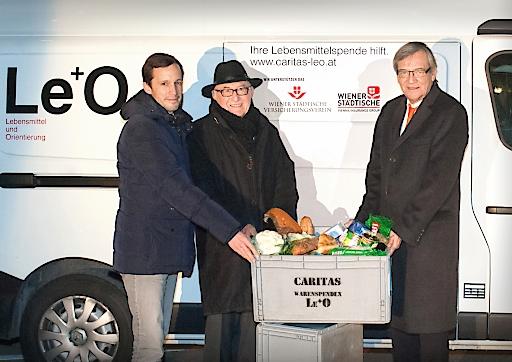 Wiener Städtische unterstützt Caritas-Projekt Le+O