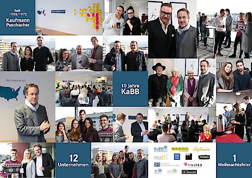 Collage anlässlich 10 Jahre KaBB GmbH
