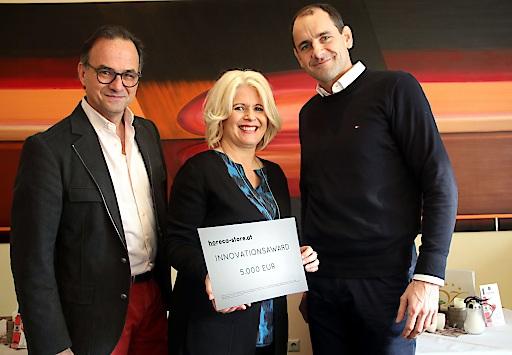 Das Vitalhotel Bad Radkersburg erhält als Sieger des Innovations-Awards ein Digitalmarketing Paket in der Höhe EUR 5.000,-