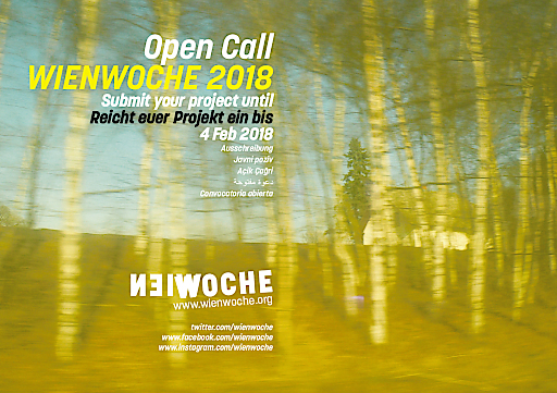 WIENWOCHE 2018 Sujet Open Call
