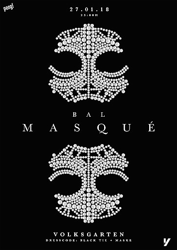 Werbe-Sujet Bal Masqué