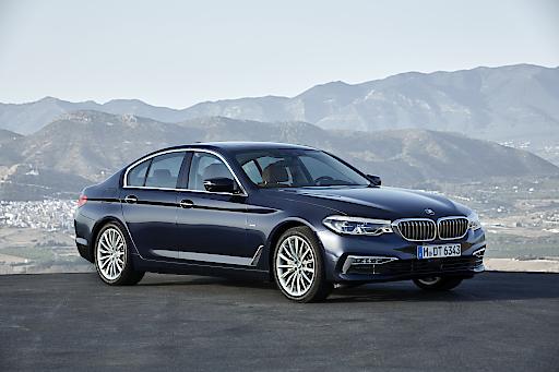 Die neue BMW 5er Limousine, Luxury Line