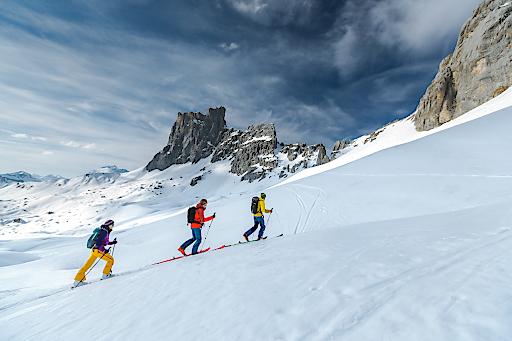 Skitour Montafon Traverse: Im Reich der wilden Felsen
