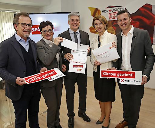 SPÖ hat in Kärnten aufgeräumt und Land Perspektive gegeben