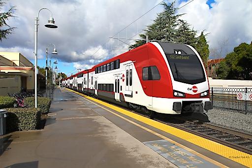 Caltrain - Rendering Stadler Rail AG
