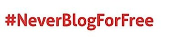 Neue Initiative für Journalisten und Blogger: #NeverBlogForFree