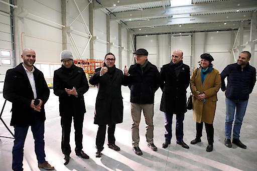 Gleichenfeier in Malacky: Maschinenbauer Maplan erweitert die Produktion in der Slowakei