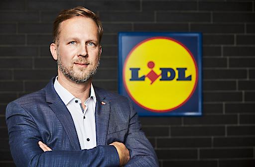 Christian Schug, Vorsitzender der Geschäftsleitung bei Lidl Österreich