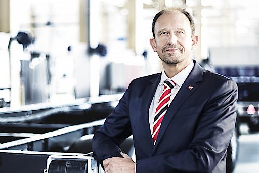 Roland Hartwig, seit 2016 CEO der Schwarzmüller Gruppe.