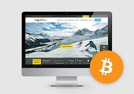 Mit Bitcoin zum Skiticket
