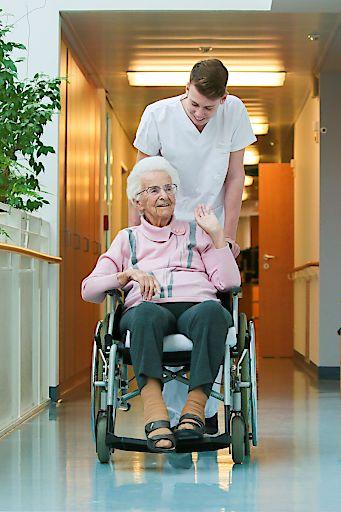 Alltag im Alten- und Pflegeheim