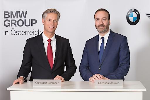 Christoph Schröder, CEO BMW Motoren GmbH Christian Morawa, CEO BMW Austria GmbH