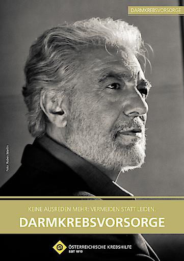 "Cover der Broschüre ""Darmkrebsvorsorge"""