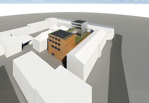"""Baustart für """"E-Campus"""" bereits ab Oktober."""