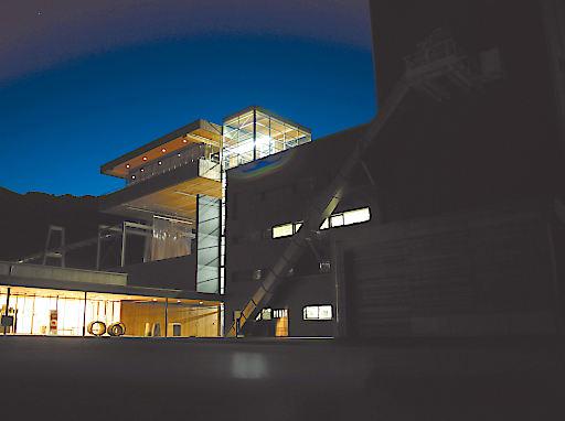 Eventlocation FeuerWerk bei Nacht