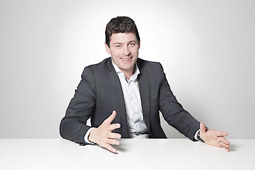 Alexis Johann, Geschäftsführer von Styria Content Creation und styria digital one