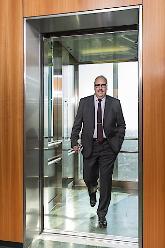 Peter Schnieper Vorsitzender der Geschäftsleitung Schindler Aufzüge und Fahrtreppen GmbH
