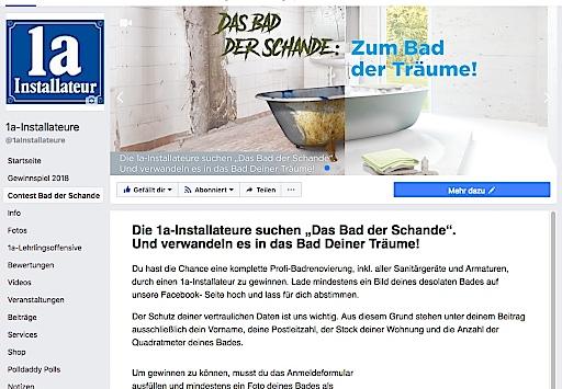 Screenshot - Die 1a-Installateure starten Wettbewerb zum desolatesten Bad Österreichs und verwandeln es in das Bad der Träume.