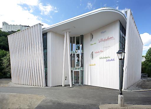 BILD zu OTS Das Siegerprojekt des GVTB-Betonpreis 2017 ist das Haus der Volkskulturen in Salzburg.